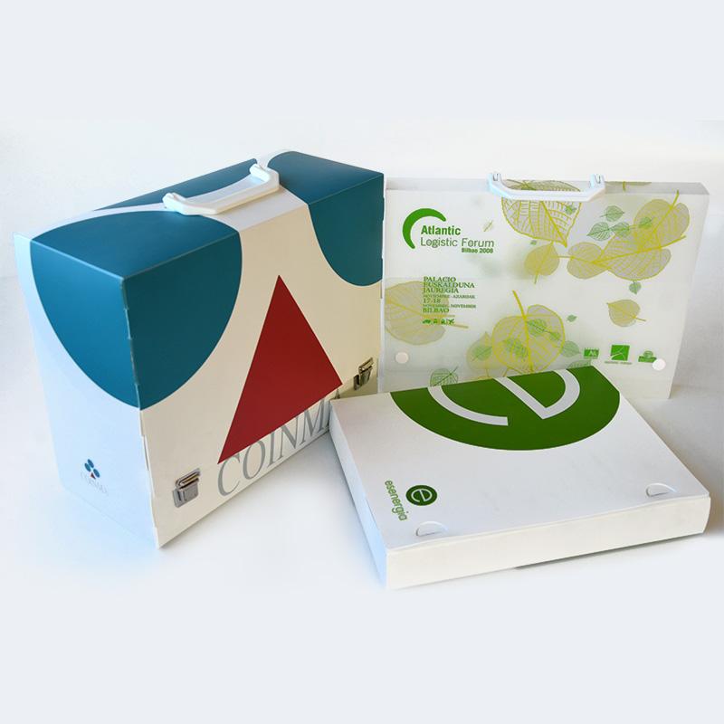 Maletines y cajas de polipropileno