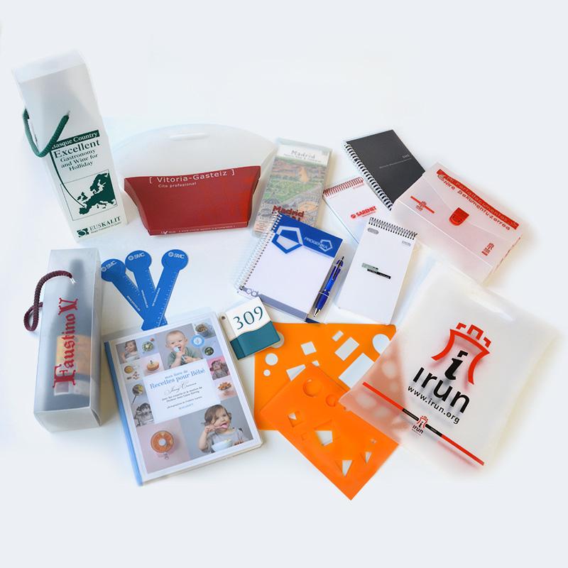 Merchandising y complementos personalizados