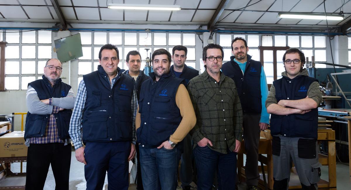 Foto del equipo de Etxeplas