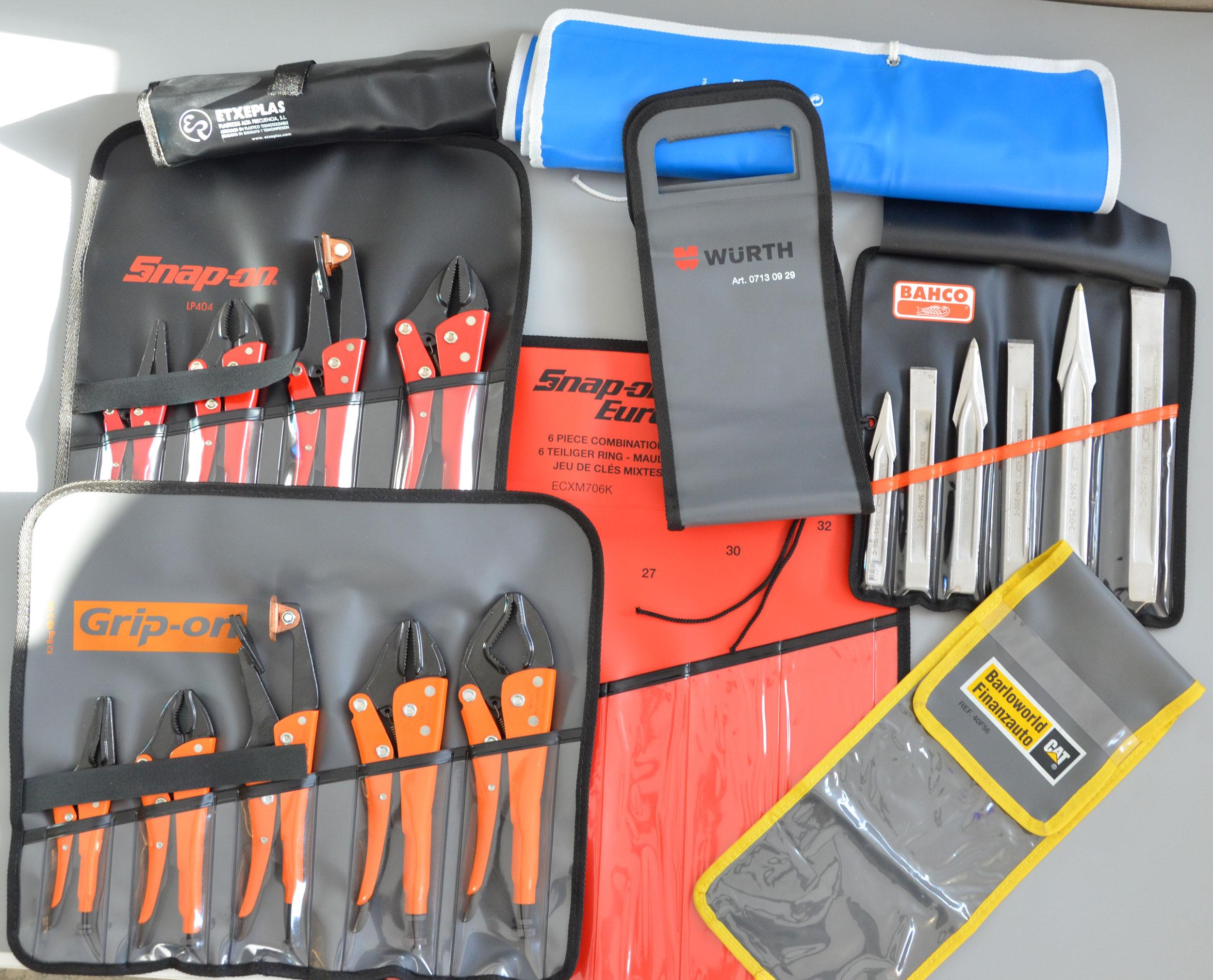 Estuches y kit de herramientas con logo de empresa