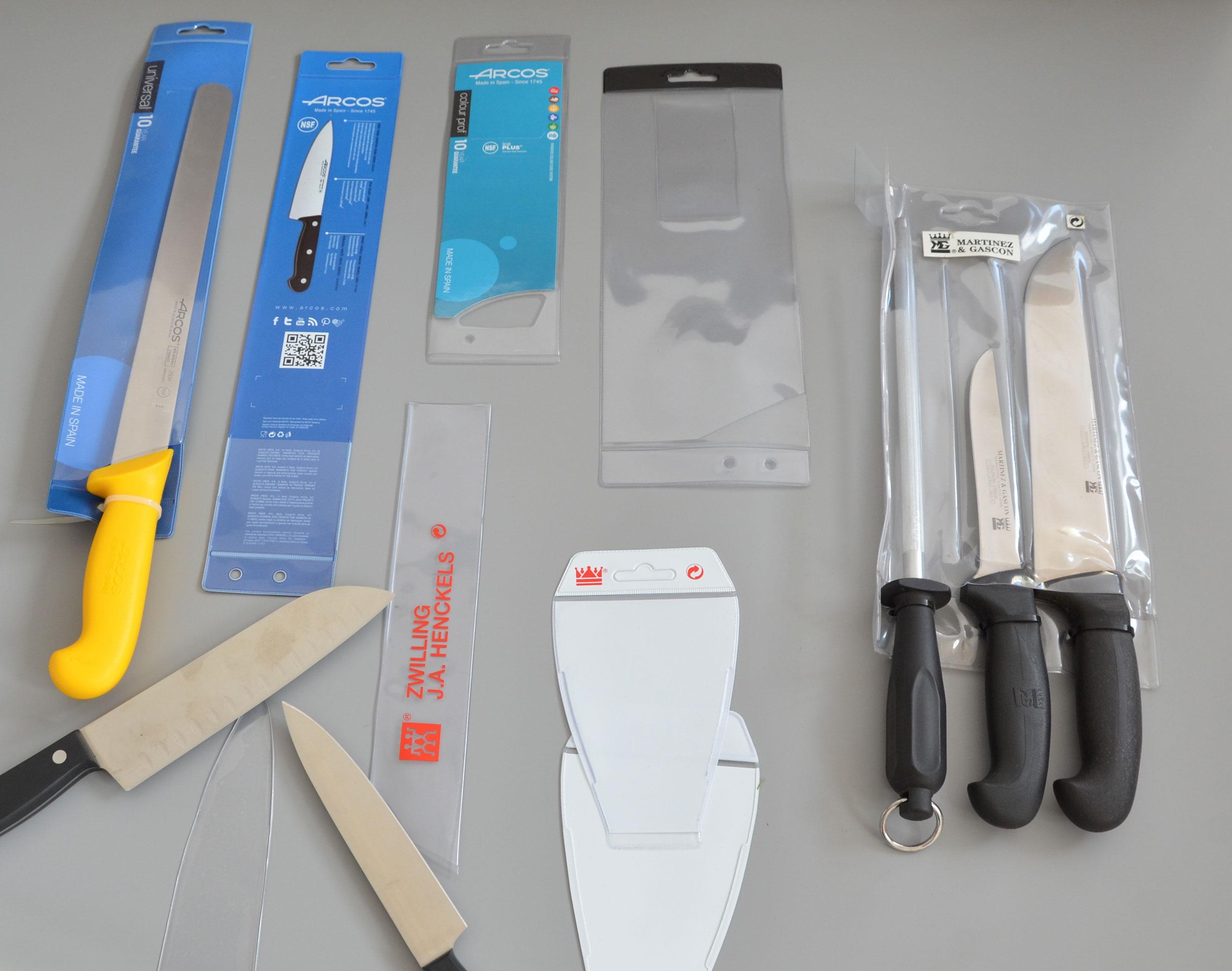 Fundas retail cuchillos